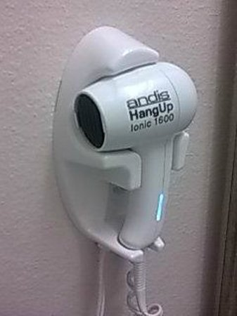 Ramada Orlando Near Convention Center : Hairdryer