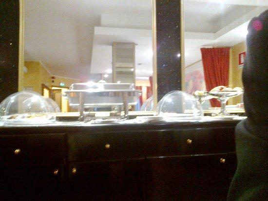 Hotel Motel Visconteo: Buffet colazione