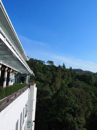 Padma Hotel Bandung: Sunny day