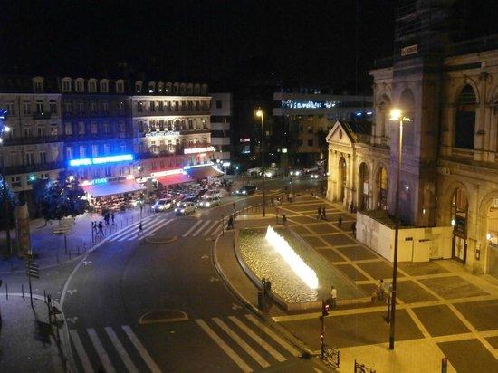 Hotel balladins Lille: Vista da janela do hotel Balladins