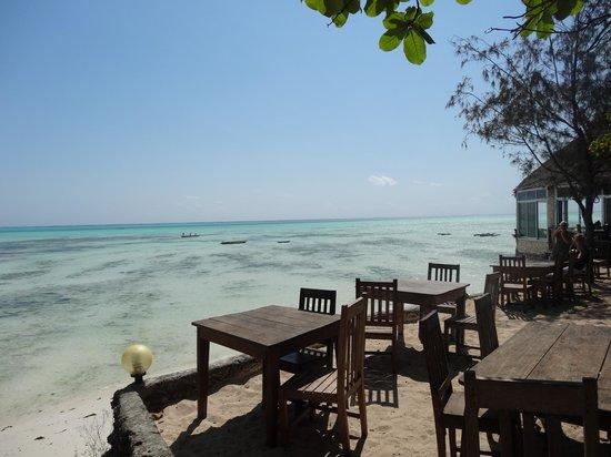 Coral Rock Zanzibar: Restaurant