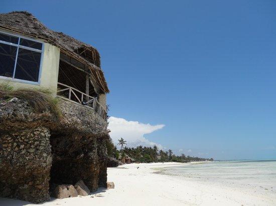 Coral Rock Zanzibar: Restaurant Aussenansicht