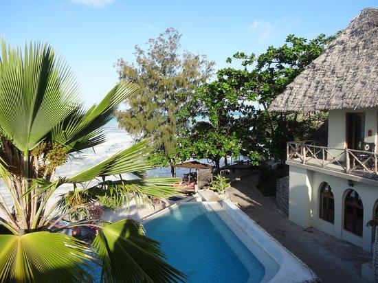 Coral Rock Zanzibar: Aussicht von der Dachterrasse
