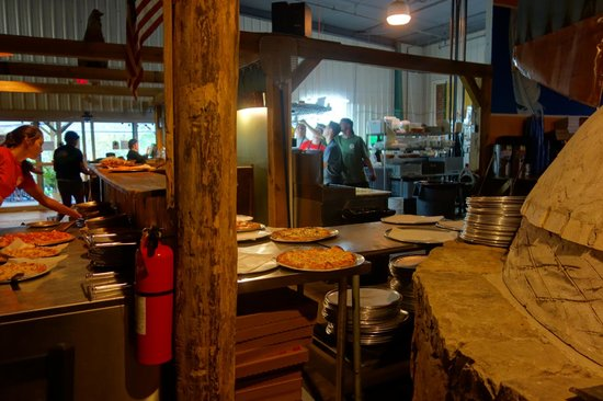 Mountain State Brewing Company: Kitchen