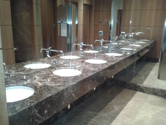Grand Hyatt Istanbul: toilette du restaurant