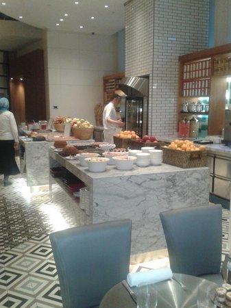 Grand Hyatt Istanbul: petit déjeuner