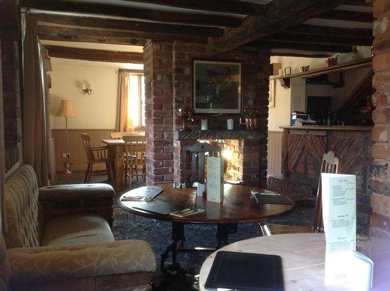 Ye Olde Dun Cow Inn: Part of interior