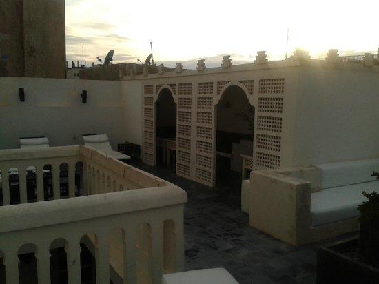Riad Malaika : roof terrace