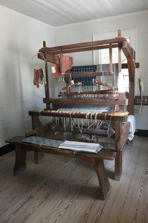 Atlanta History Center : weaving machine