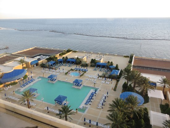 Beau Rivage Resort & Casino Biloxi: Gulf/Pool view