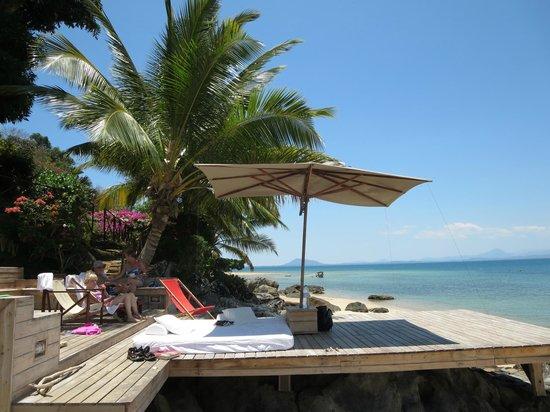 Tsara Komba Luxury Beach Forest Lodge : Beach