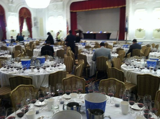 The Jefferson Hotel : One of our meeting rooms.