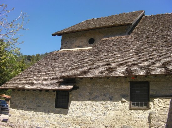 Ioannis Lampadistis (John Lampadistis Monastery): Rooftops