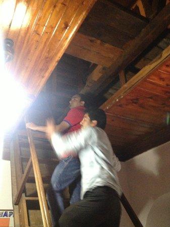Shimla British Resort: Roof Cellar