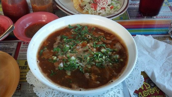 Tapatio's Restaurant Mexicano: Menudo