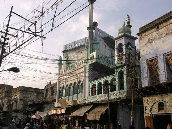 Agra By Bike: Bazaar Agra