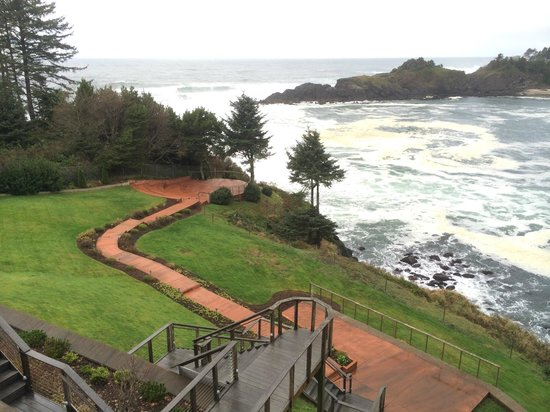 Whale Cove Inn: Amazing view from room balcony