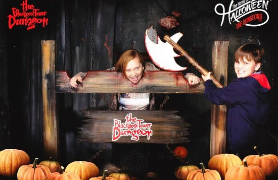 The Blackpool Tower Dungeon: OFF WITH YOUR HEAD!!!