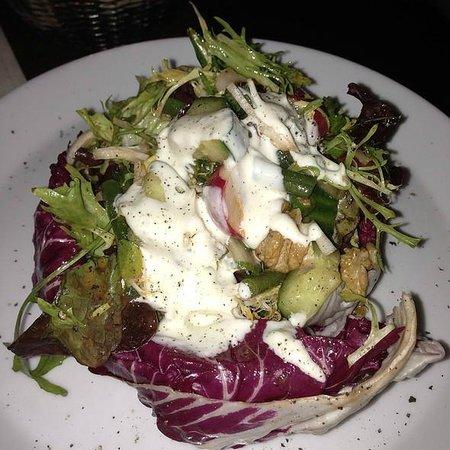 [m]eatery bar + restaurant : Worst chopped salad ever.