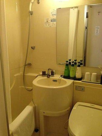 Dotonbori Hotel: barthroom