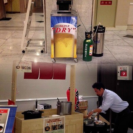 Dotonbori Hotel: noodle and beer station