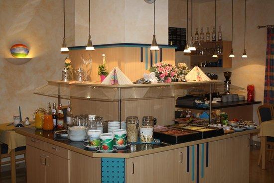 Hotel am Wiesenweg: Frühstücksbuffet