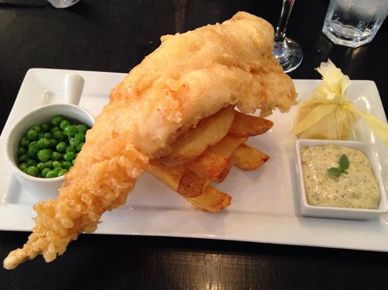 The Print Room: Fish and chips