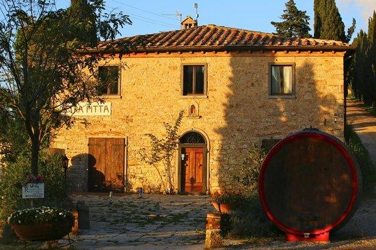 Borgo di Pietrafitta Relais: Entrée du Borgo di Pietrafitta