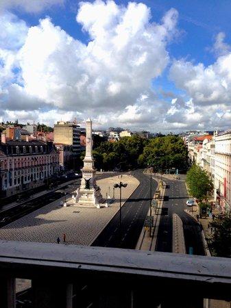 Altis Avenida Hotel: View from top floor room.