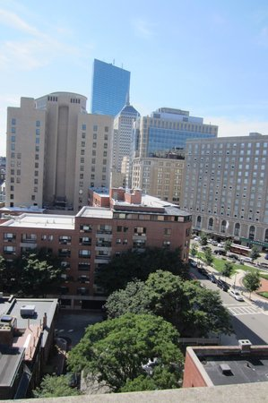 Revere Hotel Boston Common: Boston View