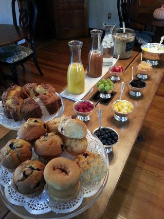 Fordham House: breakfast