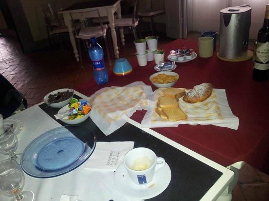 B&B Villa Le Farnete: colazione