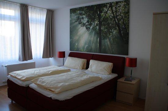Alt Graz Hotel: Dormitorio apartamento 86