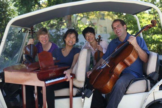 Garth Newel Music Center: Garth Newel Piano Quartet