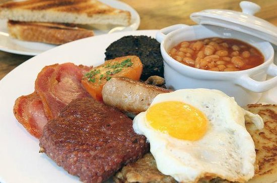 The Wee Guy's Cafe: Guy's Big Breakfast