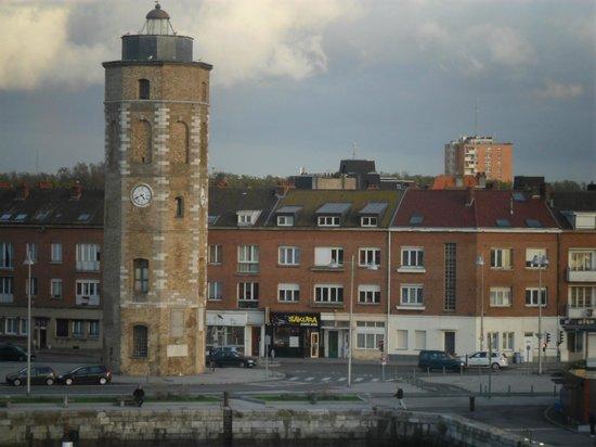 Hotel Borel: Dunkerque au petit matin..