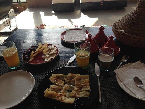 Riad Lola: Breakfast