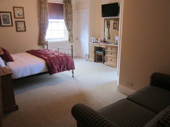 Rose & Crown: Bed and Breakfast Rooms