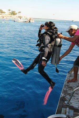 Blue Lagoon Diving Center: sharm- teran