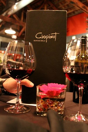 Ciopinot: With no corkage fee you can drink to your heart's desire