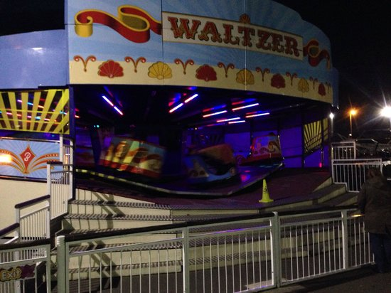 Skegness, UK: Fairground rides