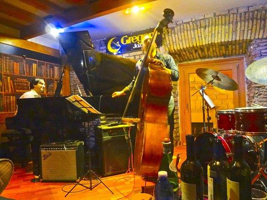 Gregory's Jazz Club: Concierto