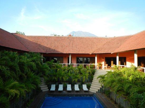 Bali Spark Resort: vu de la terrasse