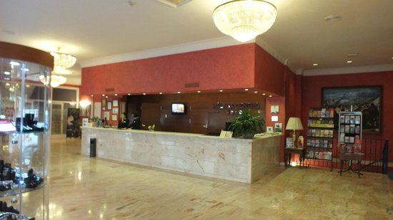 Salles Hotel Malaga Centro: Hotel Reception