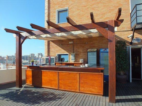 Salles Hotel Malaga Centro: Rooftop bar
