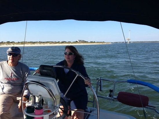 Endless Summer Day Tours: At the helm!