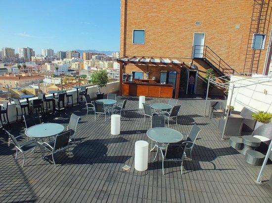 Salles Hotel Malaga Centro: Rooftop terrace