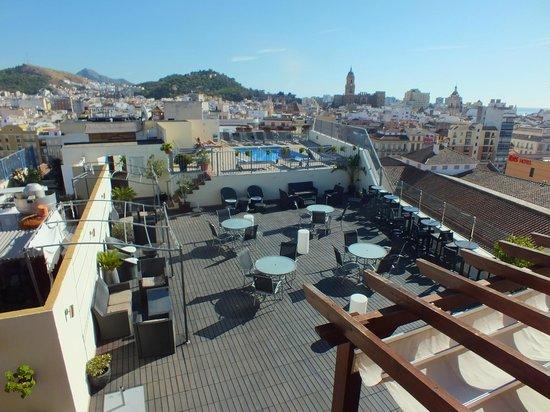Salles Hotel Malaga Centro: Málaga Cathedral & Castillo de Gibralfaro