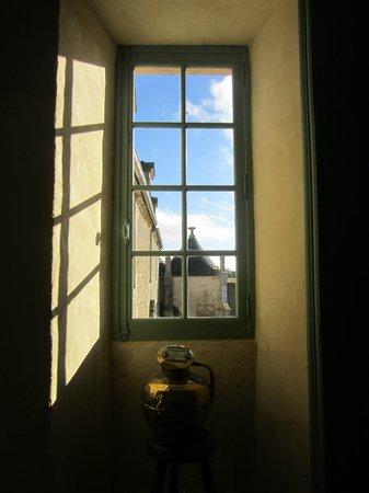 """Manoir de l""""Hermerel : View from upstairs hallway"""