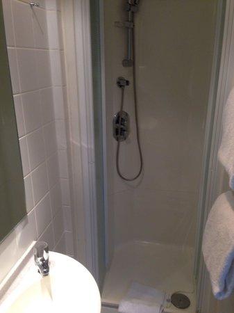 Hotel du Congres: Shower